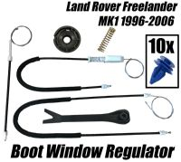 Window Regulator Boot Kit For Land Rover Freelander Tailgate Baggage Door 4/5